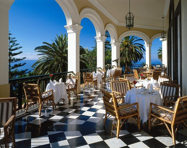 Afternoon tea at Reid's is just as Churchill ordered it. Madeira