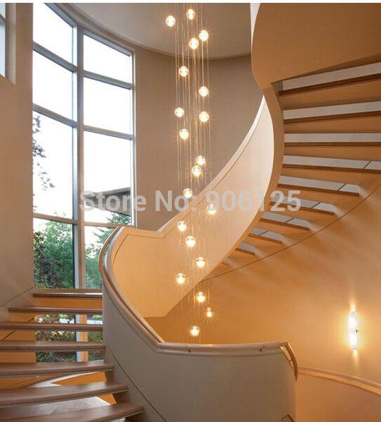 Die besten 25+ Treppenhaus beleuchtung Ideen auf Pinterest - moderne wohnzimmergestaltung