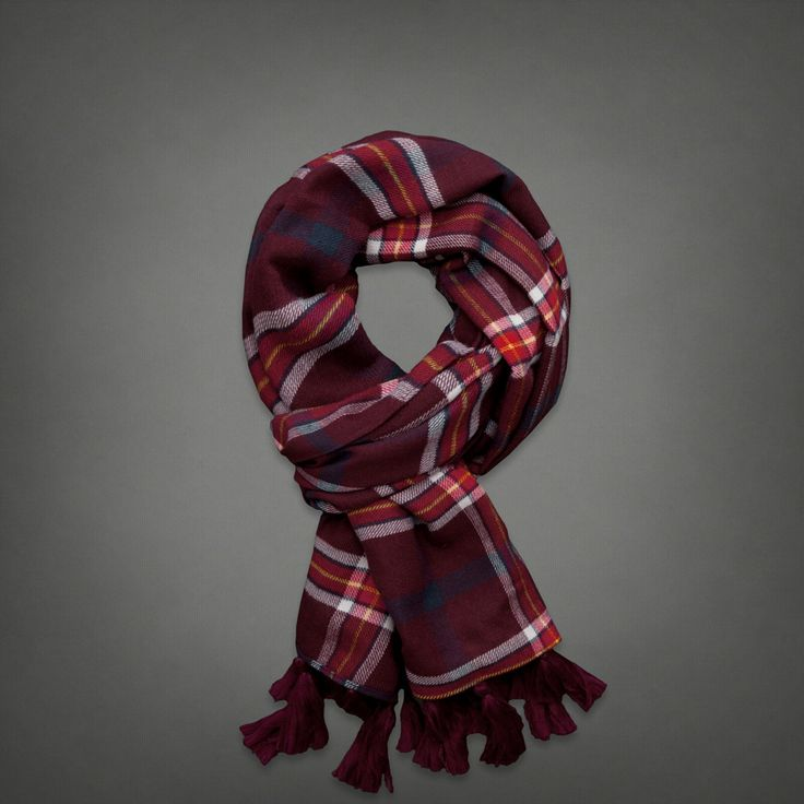 Abercrombie Fitch Accessories Abercrombie Fitch Womens: Womens Classic Patterned Scarf
