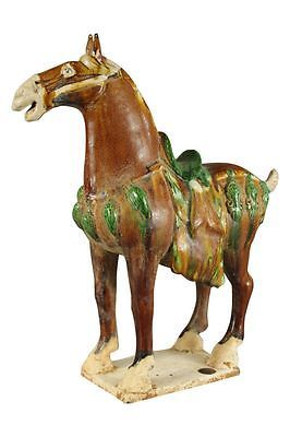 Chinesisches Tang Pferd China Figur Pferdefigur Keramik/Ton Asiatika asiatisch