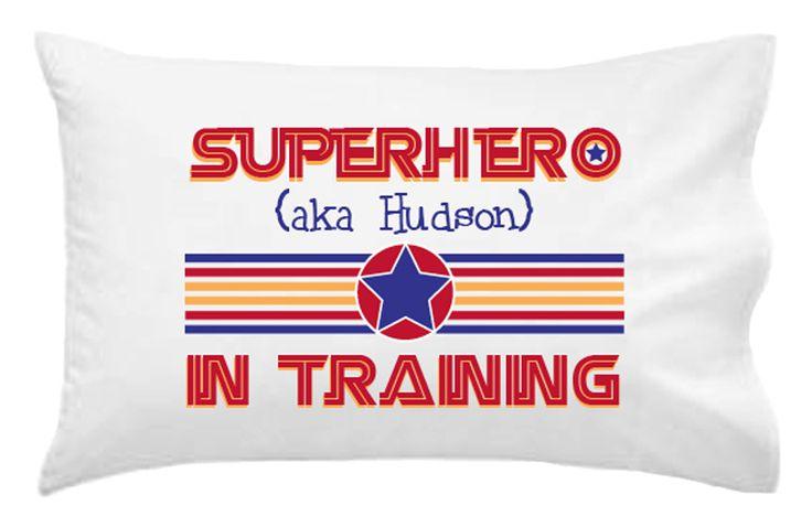 Superhero In Training Pillowcase
