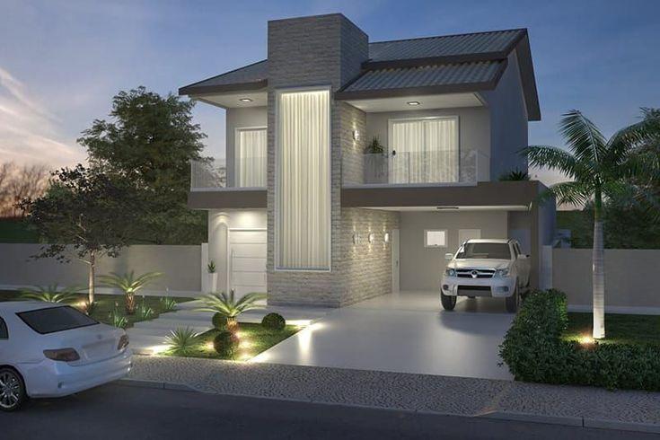 Planta de casa con techo a dos aguas #casasmodernasminimalistas #casasminimalistasfachadasde