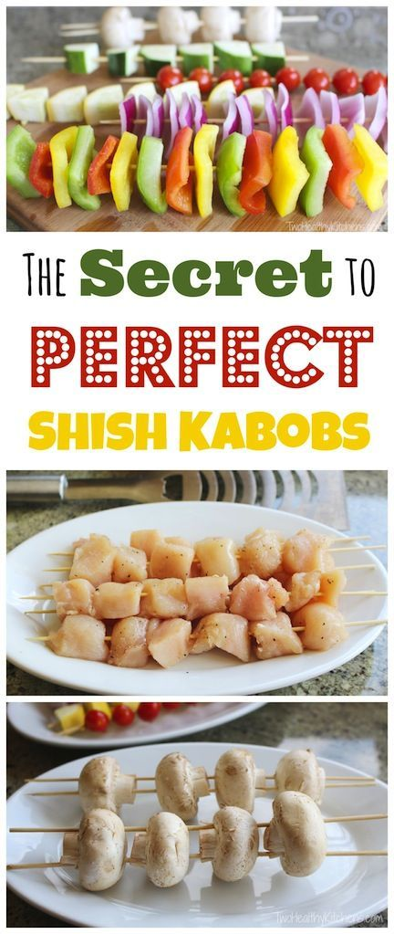 EASY TRICK for summer grilling recipes! This is the secret to making any grilled kabob recipe soooo much better! ~ from Two Healthy Kitchens at www.TwoHealthyKitchens.com