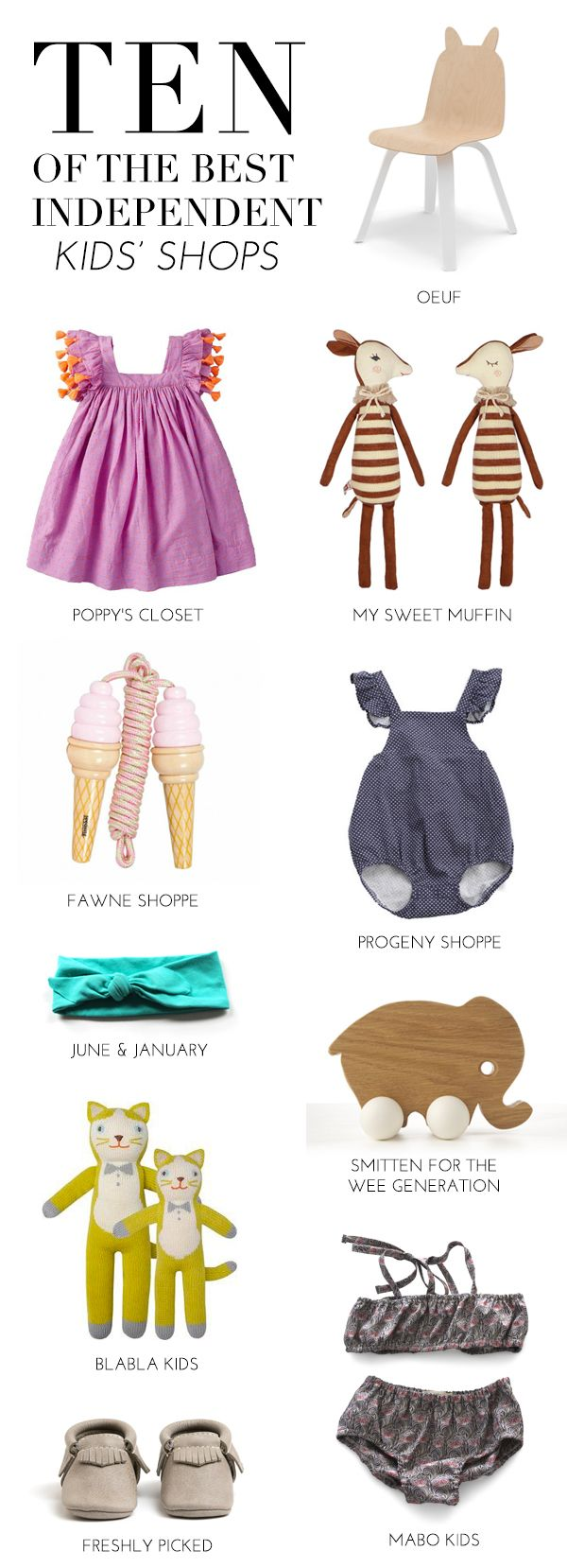 10 of the best independent kids' shops