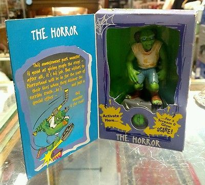 1996 Goosebumps One Day at Horrorland #16  Toy Collectible Figure in BOX VINTAGE