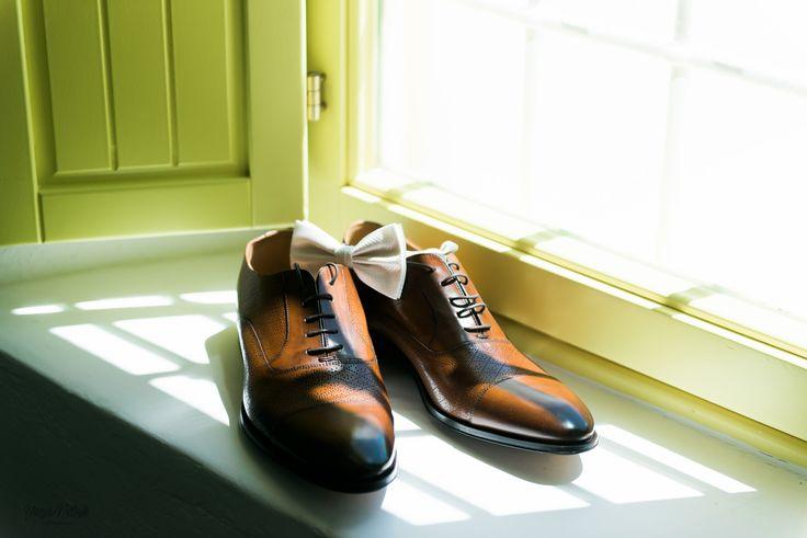 Grooms Footwear, Style, Brogues, Window Ledge, Classic, Santorini Weddings