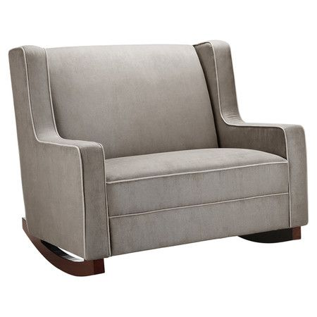 Found it at wayfair baby relax rocking loveseat in brown decor pinterest taupe babies Rocking loveseats