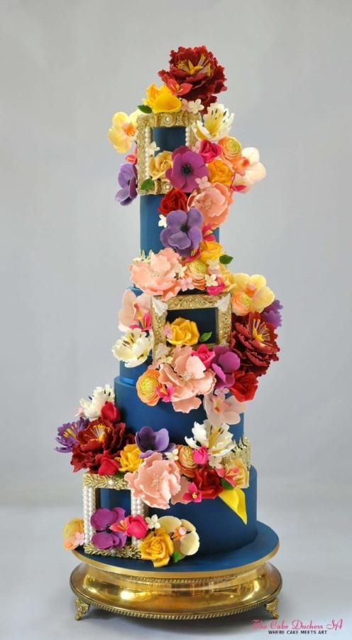 The Garden of Eden by Sumaiya Omar - The Cake Duchess SA - http://cakesdecor.com/cakes/272666-the-garden-of-eden