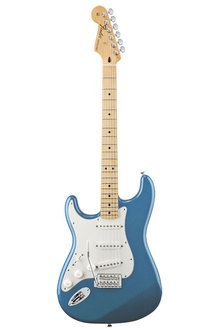 Fender Mexico Standard Stratocaster Left-Handed (Lake Placid Blue / Maple) 《 Left-Hand / left-handed people