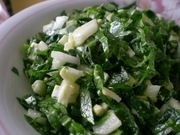 salata de leurda: Salad, Cooking Meat, De Leurda, Healthy Food
