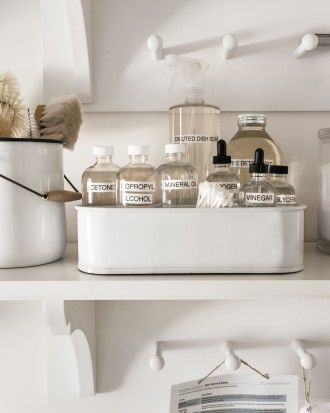 "See the ""Stain-Removal Kit"" in our Martha's Laundry Room Redo: Tips to Organize a Small Space gallery"