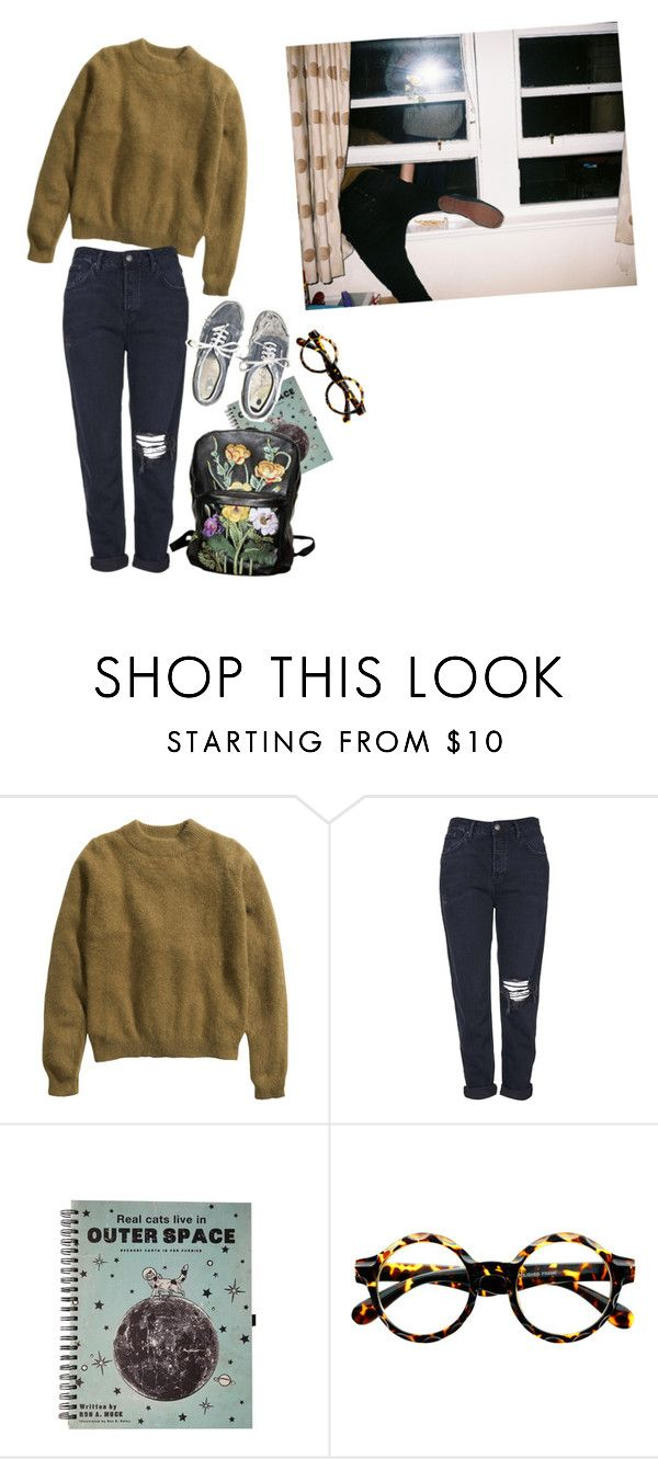 """She left everything!"" by linneminne ❤ liked on Polyvore featuring H&M, Topshop, Retrò, Christopher Kane, women's clothing, women, female, woman, misses and juniors"