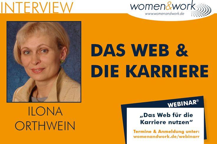 Ilona Orthwein ist Unternehmensberaterin und Businesscoach. Auf der women&work am 4. Juni berät sie am Messestand von unternehmerinnen.org (K 3 auf der Karriere-Meile). Sie ist Referentin eines…