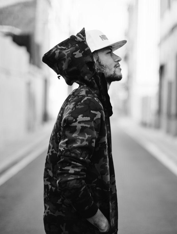 "neymarhqs: "" "" Neymar for the 2015 Nike Tech Fleece Collection "" """