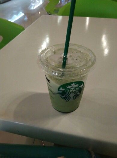 New of My Favorite, Green tea latte