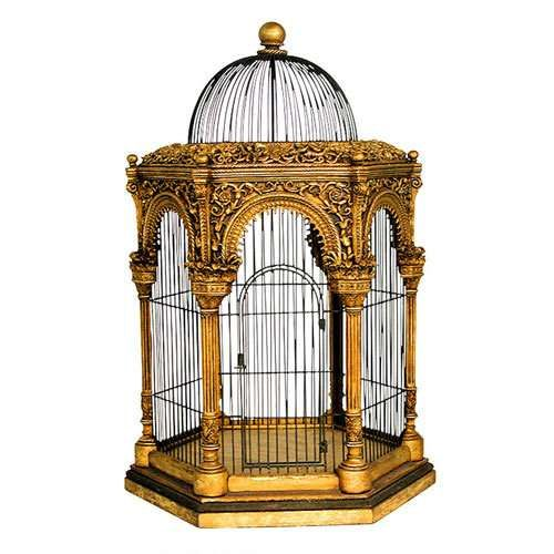 Gilded bird cageBirdhouses, Gilded Cages, Antiques Birds, Gilded Birds, Birdcages, Cages Chapter, Fancy Birds, Bird Cages, Mogul Birds Cages 9Be7F8F3 Jpg