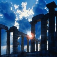 ancient ruins in greece