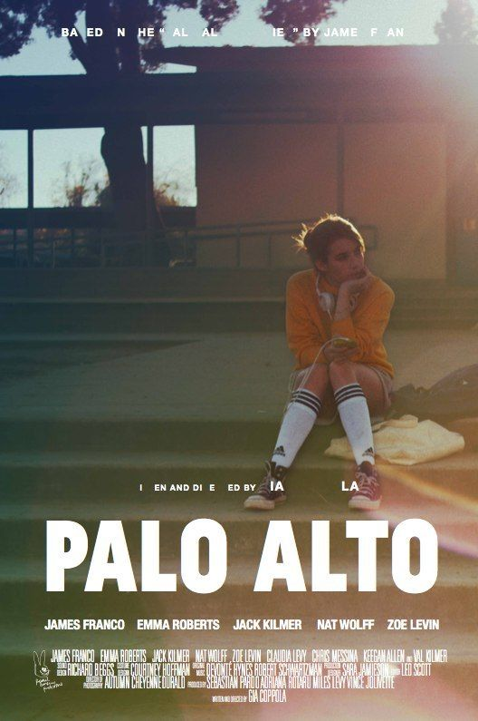 Palo Alto is a 2013 American drama film based on James Franco's short story collection Palo Alto (2010). Gia Coppola directed the film and wrote the screenplay, while Franco stars with Emma Roberts and newcomer Jack Kilmer. #paloalto