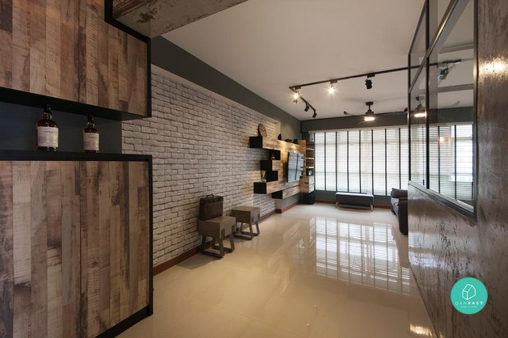12 Hdb Apartment Renovations You Have To See Interior Design Singapore Apartment Renovation Modern Living Room Interior