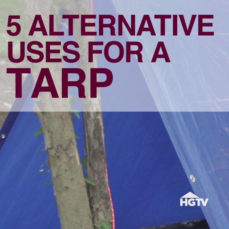 5 Alternative Uses for a Tarp