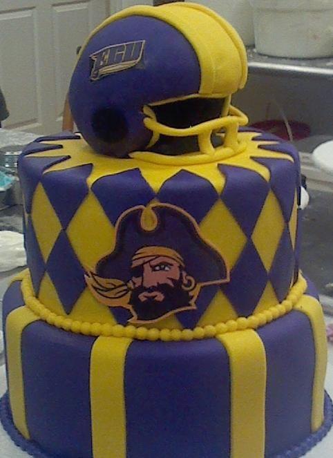 ECU Grooms Cake - Go Pirates!