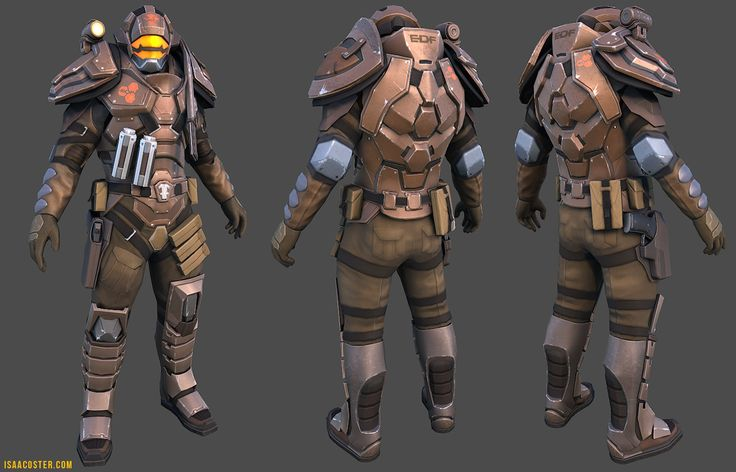 EDF soldier from Red Faction