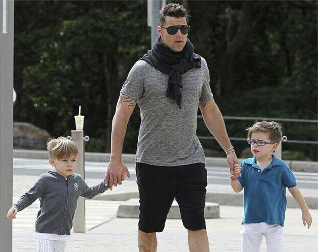 Ricky Martín apoyará a sus hijos si quieren ser cantantes