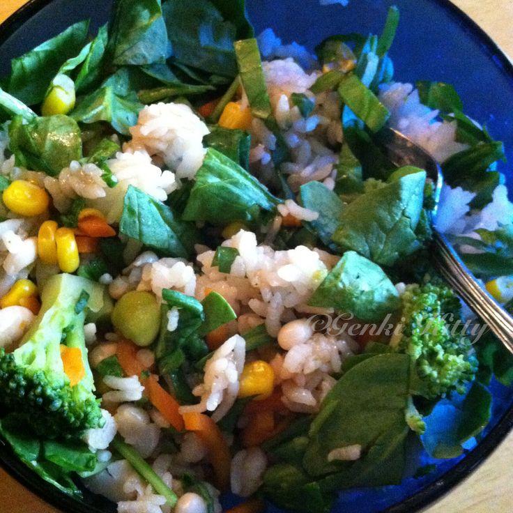 Vegan un-fried rice recipe