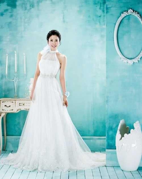 корейские свадебные платья