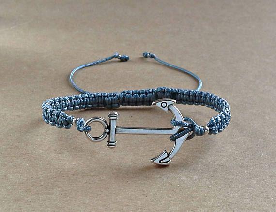 Anchor BraceletNautical JewelryBracelet For MenNautical