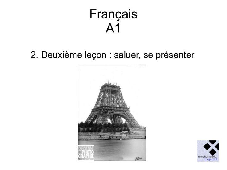 Cours de français pour débutants French lessons for beginners
