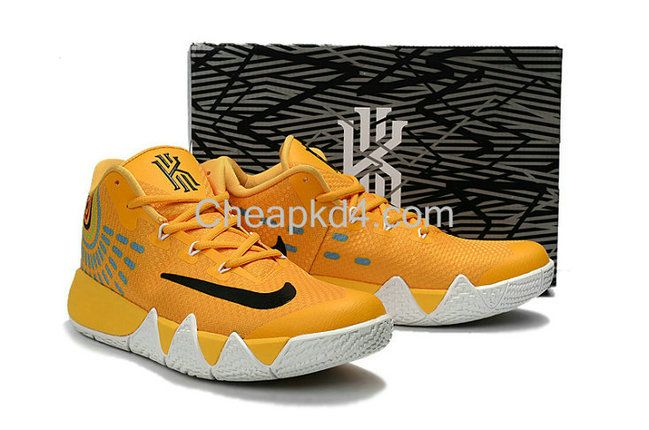 newest 7bc9e 18375 Latest Cheap New Arrival March New Cheap Kyrie 4 III Mac and Cheese  University Gold