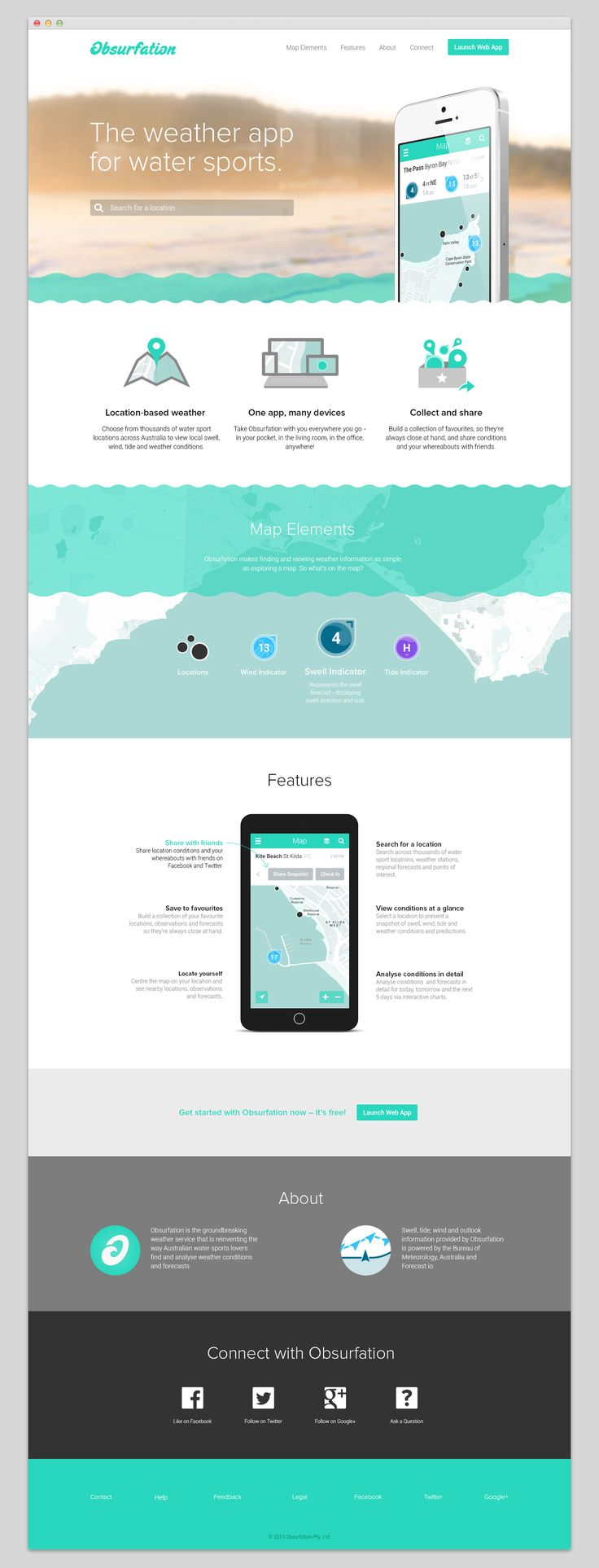 Obsurfation Website by Pennant | Branding and Design. www.studiopennant.com