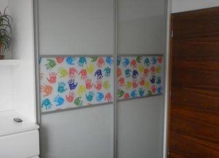 Realizace Brno,  dekorační výplň tištěné sklo
