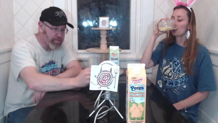 Peeps Orange Crème Flavored Milk