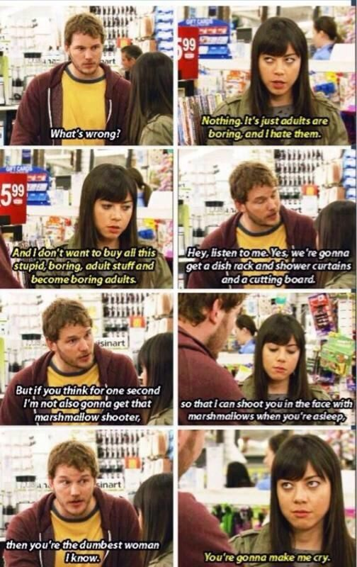 parks and recreation april andy relationship goals