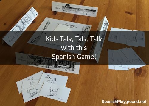 1000 images about los animales animals in spanish on for Go fish instructions
