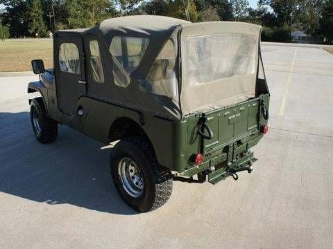 the jeep cj6 long at last autos post. Black Bedroom Furniture Sets. Home Design Ideas