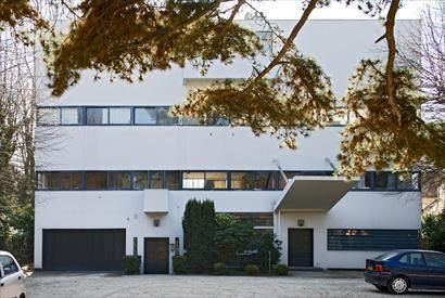 """Fondation Le Corbusier - Réalisations - Villa Stein-de-Monzie, """"Les Terrasses"""", Garches France"""