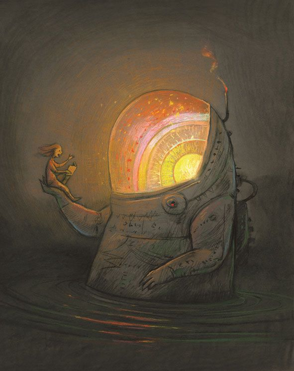IBBY AUSTRALIA offers a special Limited Edition Print by internationally acclaimed Australian author/illustrator Shaun Tan.