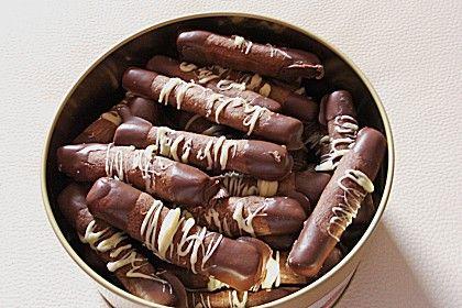 Nougatstangen, ein beliebtes Rezept aus der Kategorie Kekse & Plätzchen. Bewertungen: 9. Durchschnitt: Ø 4,0.