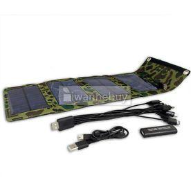 Chargeur de Téléphone Solaire USB 7W /5.5V 1090mA