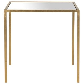 Safavieh Treasures Kiley Gold/ Mirror Top Accent Table | Overstock.com