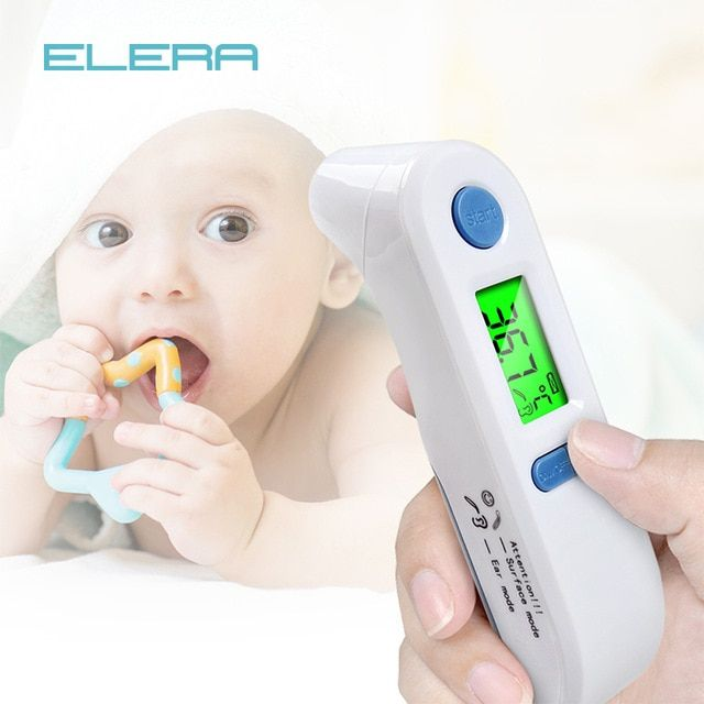 Thermometers for Kids Baby and Adult 1S Instant Measure Infrared Digital Thermometer Ear and Forehead Thermometer for Baby Kid and Adult