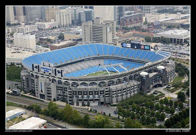 Bank of America Stadium, Charlotte, NC, Home to the Carolina Panthers
