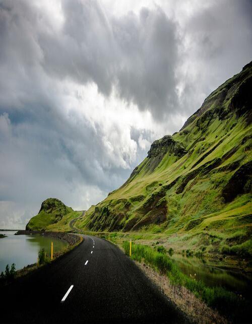 Ireland-Yep, looked just like this the day I rode around it