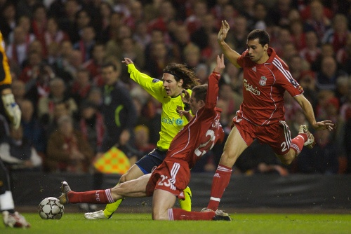Even this guy has been on the receiving end of a no-nonsense Carra challenge