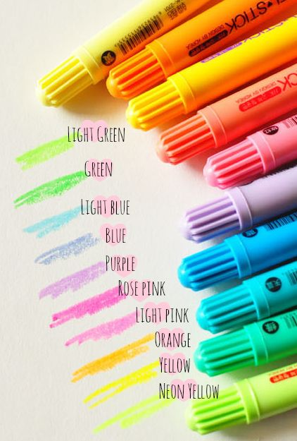Image of Pens : Gel Stick Highlighter from happie scrappie