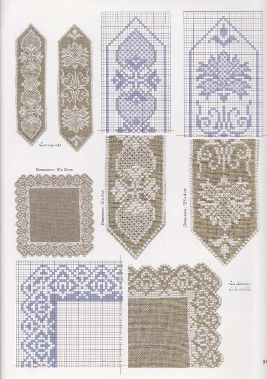 Cross stitch border charts - Gallery.ru / Фото #54 - 5 - tatasha