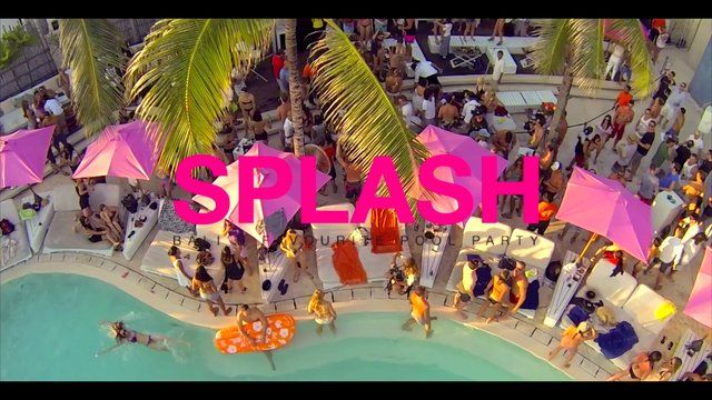 SPLASH.. Balis favourite pool party. third Sunday of every month from March to October